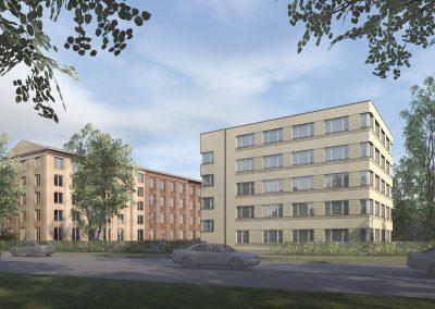 Neubau eines Bürohauses nähe Potsdam Hauptbahnhof